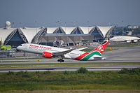 5Y-KZB - B788 - Kenya Airways