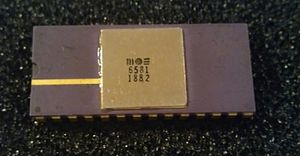 MOS Technology SID - 6581 produced in 1982