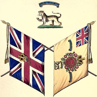 67th (South Hampshire) Regiment of Foot - Colours of the 67th Regiment