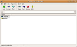 Screenshot of 7-Zip