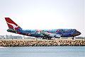 70bn - Qantas Boeing 747-338; VH-EBU@SYD;04.09.1999 (6162316942).jpg