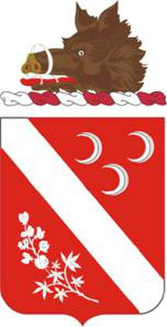 7th Field Artillery Regiment - Coat of arms