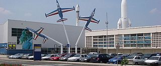 Aviation museum in Le Bourget, France