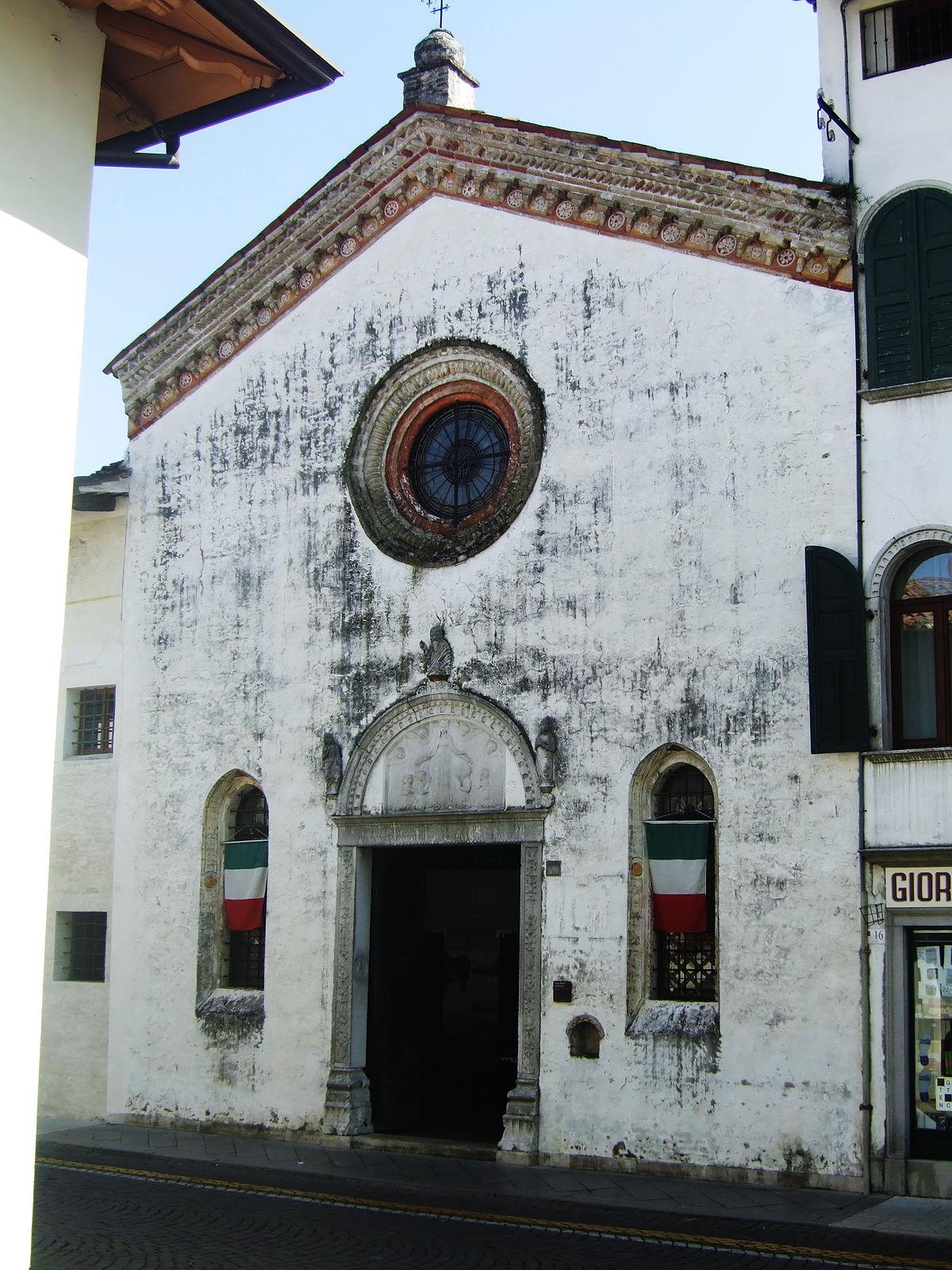 Chiesa di santa maria dei battuti san vito al tagliamento for Appartamenti arredati san vito al tagliamento
