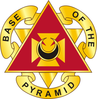 87th Combat Sustainment Support Battalion (United States) - Image: 87 Spt Bn DUI
