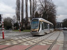 Image illustrative de l'article Ligne 94 du tram de Bruxelles