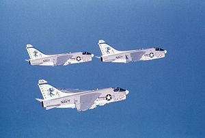 VFA-15 - VA-15 A-7Es in 1976