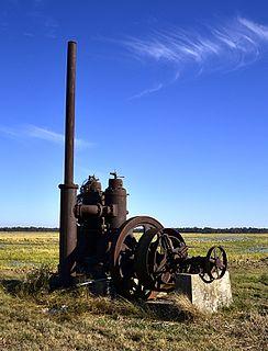 A.M. Bohnert Rice Plantation Pump United States historic place