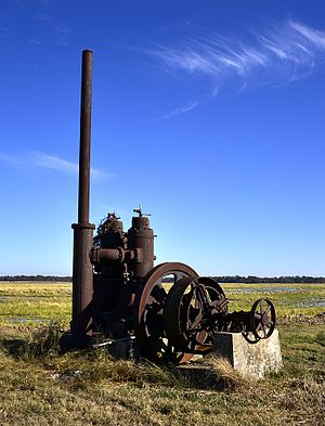 National Register of Historic Places listings in Arkansas County, Arkansas - Image: A.M. Bohnert Rice Plantation Pump