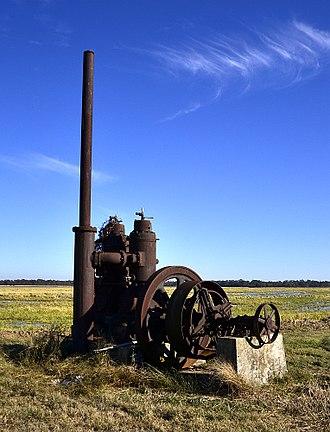 National Register of Historic Places listings in Arkansas County, Arkansas - Image: A.M. Bohnert Rice Plantation Pump