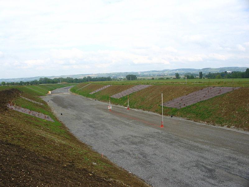 A719 Gannat-Vichy en construction.