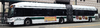 An image of an AC Transit bus taken at 20th and Broadway in Oakland in early February 2014. The bus is the New Flyer Excelsior D60, and was operating eastbound on the NL translbay line.