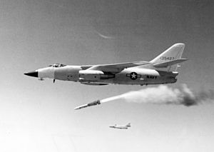 AIM-54 Phoenix - An AIM-54A launched from the NA-3A-testbed in 1966