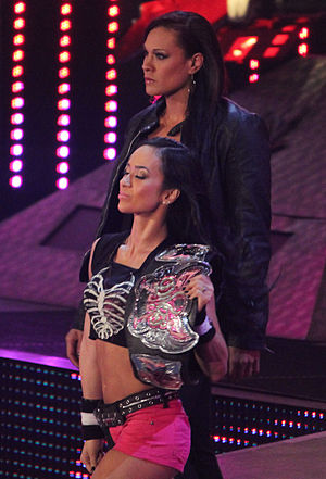 Tamina Snuka - Snuka along with AJ Lee the night after WrestleMania on Raw in April 2014
