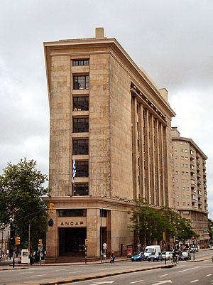 ANCAP (Uruguay) - The headquarters of ANCAP in Montevideo, Uruguay.