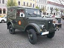 ARO M461 registered as a classic car in Romania.JPG
