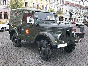 ARO M461 registered as a classic car in Romania.JPG