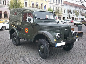 ARO M461 - Image: ARO M461 registered as a classic car in Romania