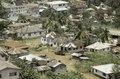ASC Leiden - F. van der Kraaij Collection - 05 - 025 - A close up of down town Monrovia seen from the Ducor Hotel - Monrovia, Mamba Point, Montserrado, Liberia, 1975.tif
