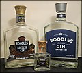 A Collection of Boodles Gin Bottles Past and Present Jun2013.jpg