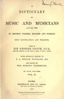 A Dictionary of Music and Musicians vol 2.djvu