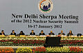 A Sherpa Meeting of the 2012 Nuclear Security Summit held in New Delhi.jpg