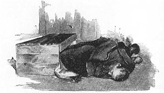 Tramp - Image: A Tramp's Nest in Ludlow Street