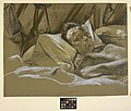 A Wounded Man in a Hospital Bed Art.IWMART5053.jpg