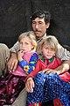 A Yörük father with his daughters, Balkusan, Karaman, Turkey, 2015.jpg