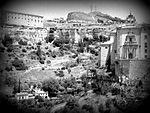 A black and white photo taken in Cuenca Spain.jpeg