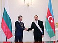 A ceremony was held to decorate Bulgarian President Georgi Parvanov and Ilham Aliyev with high awards 3.jpg