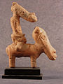 A man ride a horse,Nok terracotta figurine.jpg