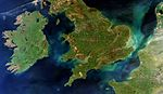 A rare cloud-free view of Ireland, Great Britain and northern France ESA285511.jpg