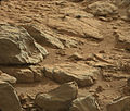 A shiny-looking Martian rock.jpg