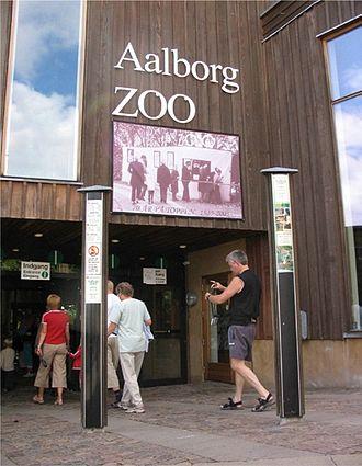 Aalborg Zoo - Zoo Entrance