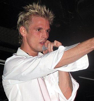 Aaron Carter - Carter onstage stage July 30, 2010