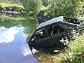 Abandoned Ford Escort in old quarry - geograph.org.uk - 620761.jpg