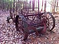 Abandoned manure spreader, McLean Game Refuge, 2010 a.jpg