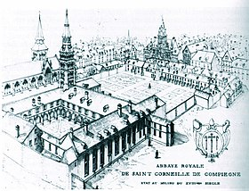 Image illustrative de l'article Abbaye Saint-Corneille de Compiègne