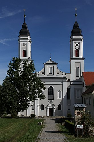 Irsee Abbey - Irsee Abbey church