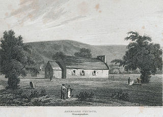 Aberdare church, Glamorganshire