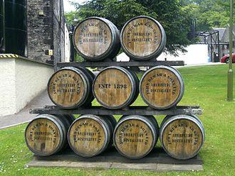 Aberfeldy distillery - Aberfeldy Casks