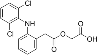 Aceclofenac - Image: Aceclofenac
