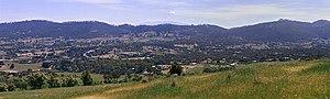 Acton Park, Tasmania - Image: Acton Park, Hobart,Tasmania from S Ingle Hill