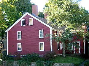 National Register of Historic Places listings in Somerville, Massachusetts - Image: Adams Magoun House Somerville MA 01