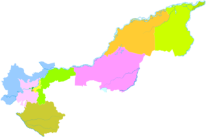 Jiamusi - Image: Administrative Division Jiamusi