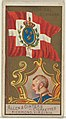 Admiral, Denmark, from the Naval Flags series (N17) for Allen & Ginter Cigarettes Brands MET DP834908.jpg