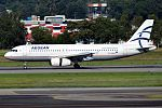 Aegean Airlines, SX-DVM, Airbus A320-232 (27845026534).jpg