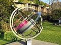 Aequatorialsonnenuhr der Stadt Zürich 2012-03-20 17-02-55 (P7000).JPG