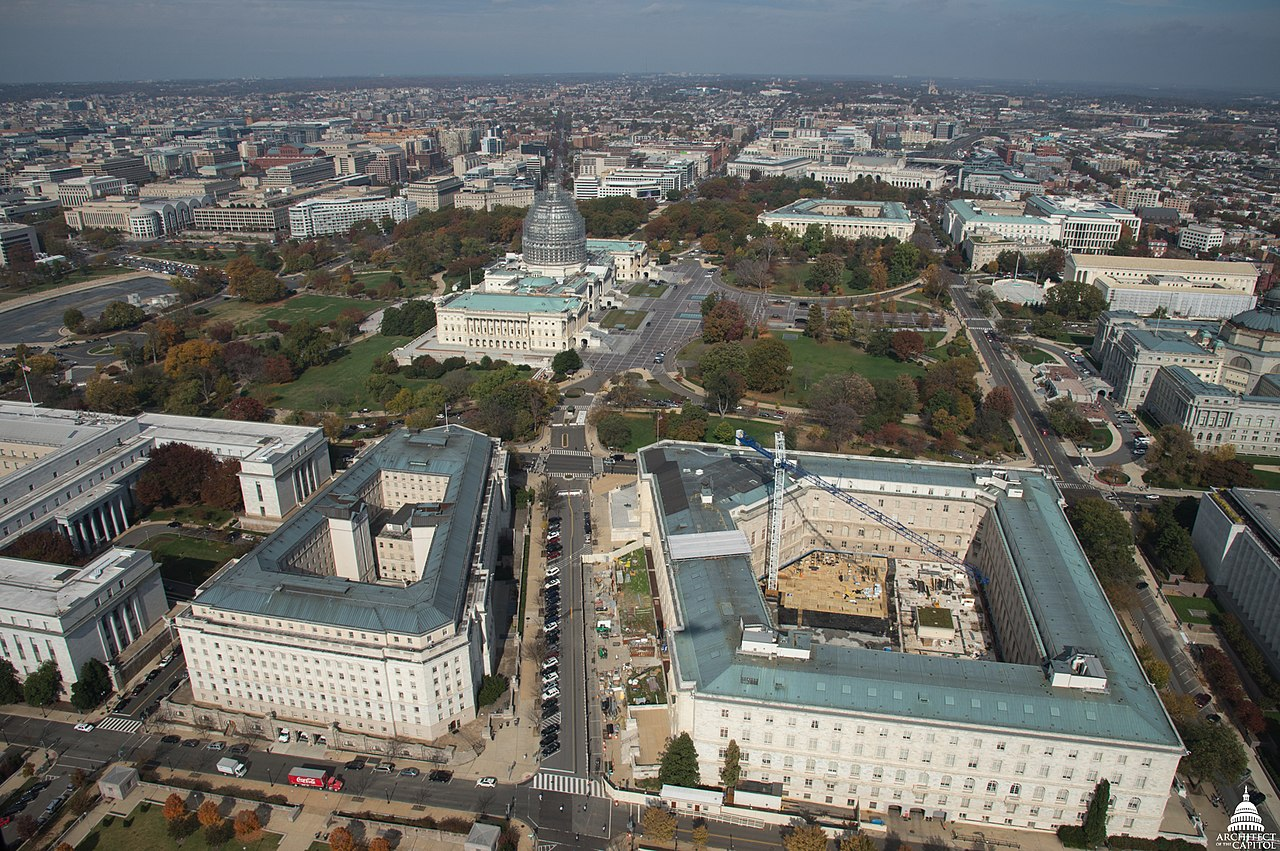 File Aerial View Of The House Office Buildings And U S